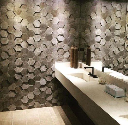 Mosaico de pedras naturais