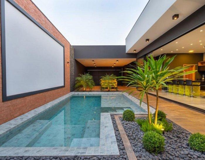 Rejunte especial para piscina